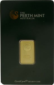 Goldbarren 5g - Perth Mint