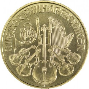Wiener Philharmoniker 1oz Gold