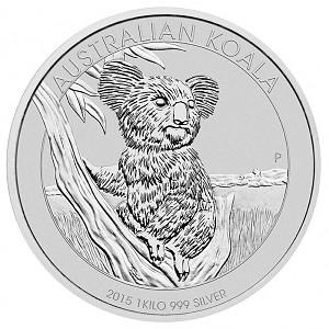 Koala 1kg Silber - 2015