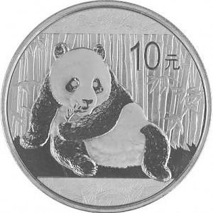 China Panda 1oz Silber - 2015