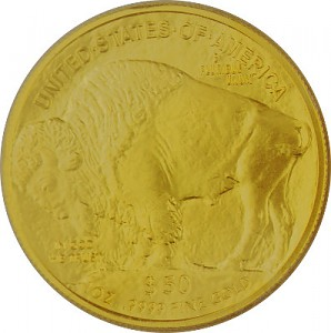 American Buffalo 1oz Gold - 2015
