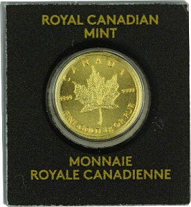 Maple Leaf 1g d'or fin - 2013