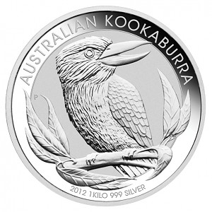Kookaburra 1kg Silber - 2012