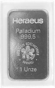 Palladium Bar 1oz (Standard Taxation)