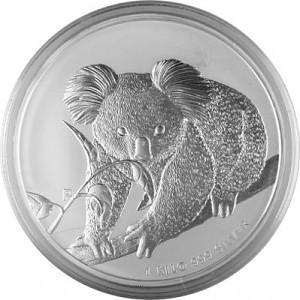 Koala 1kg Silver - 2010
