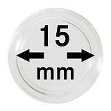 Münzkapseln 15mm, 1 Stück