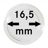 Münzkapseln 16,5mm, 1 Stück