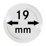 Münzkapseln 19mm, 1 Stück