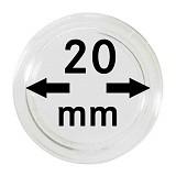 Münzkapseln 20mm, 1 Stück