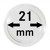 Münzkapseln 21mm, 1 Stück