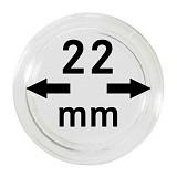 Münzkapseln 22mm, 1 Stück