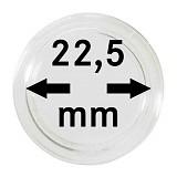 Münzkapseln 22,5mm, 1 Stück