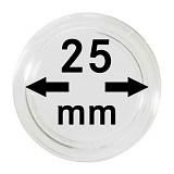 Münzkapseln 25mm, 1 Stück