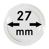 Münzkapseln 27mm, 1 Stück