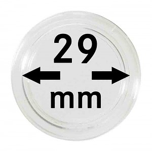Coin Capsules 29mm, 10 Pieces