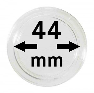 Coin Capsules 44mm, 10 Pieces