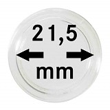 Münzkapseln 21,5mm, 1 Stück