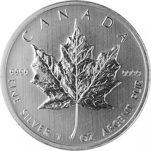 Maple Leaf 1oz d'Argent