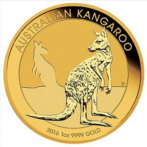 Australian Kangaroo 1oz Gold - 2016