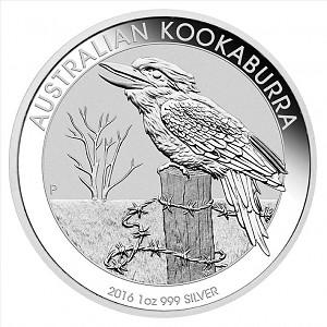 Kookaburra 1oz Silber - 2016