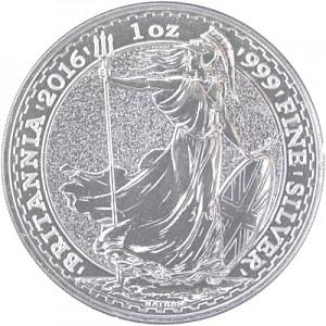 Britannia 1oz d'Argent - 2016