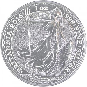 Britannia 1oz Silver - 2016