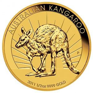 Känguru/Nugget 1/2oz Gold