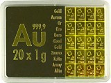 Goldbarren - Tafelbarren CombiBar 20g (20x 1g)