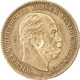 20 Mark Wilhelm I. 7,16g Gold