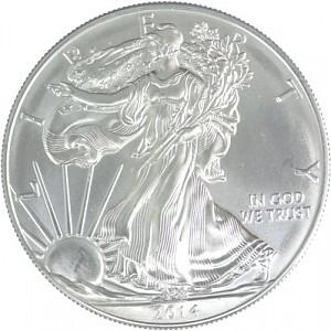 American Eagle 1oz d'Argent