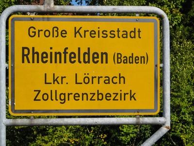 Rheinfelden im Landkreis Lörrach
